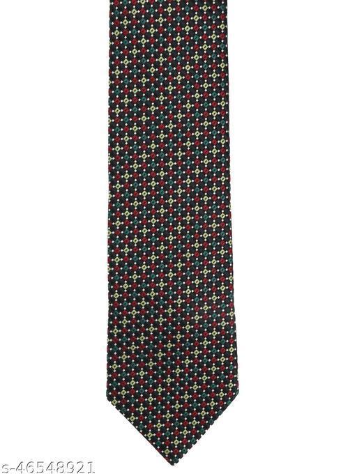 Calvadoss Premium Self Design Woven broad Tie