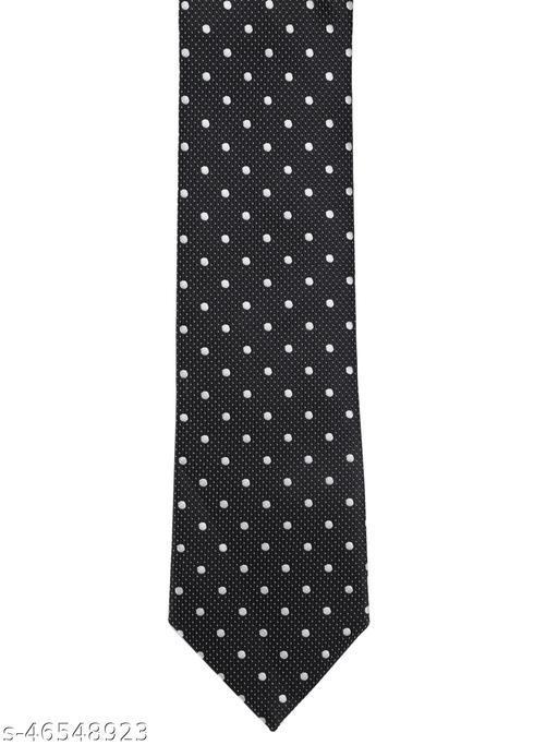 Calvadoss Premium Polka Dots Design Woven broad Tie