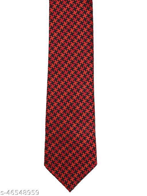 Calvadoss Premium Houndstooth Design Woven broad Tie