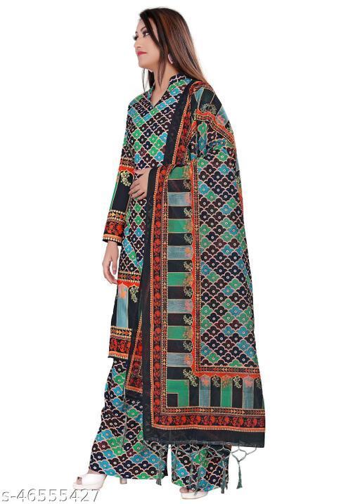 Trendy Ensemble Salwar Suits & Dress Materials