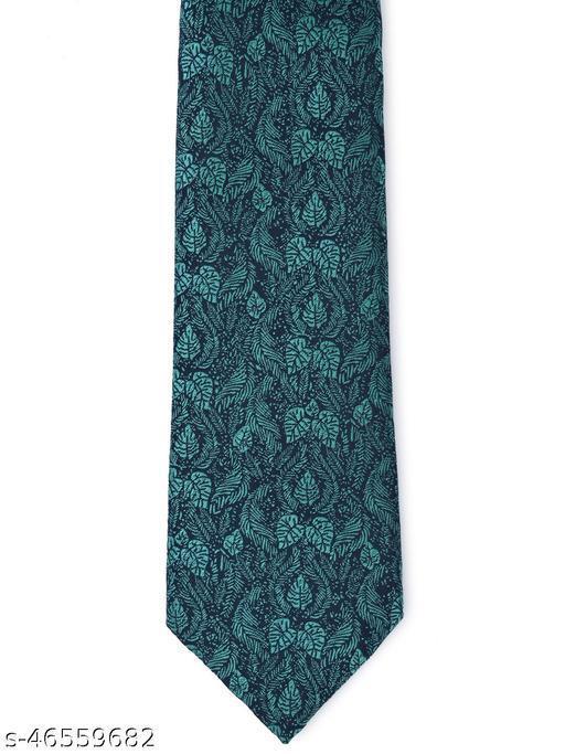 Calvadoss Premium Floral Design Woven broad Tie