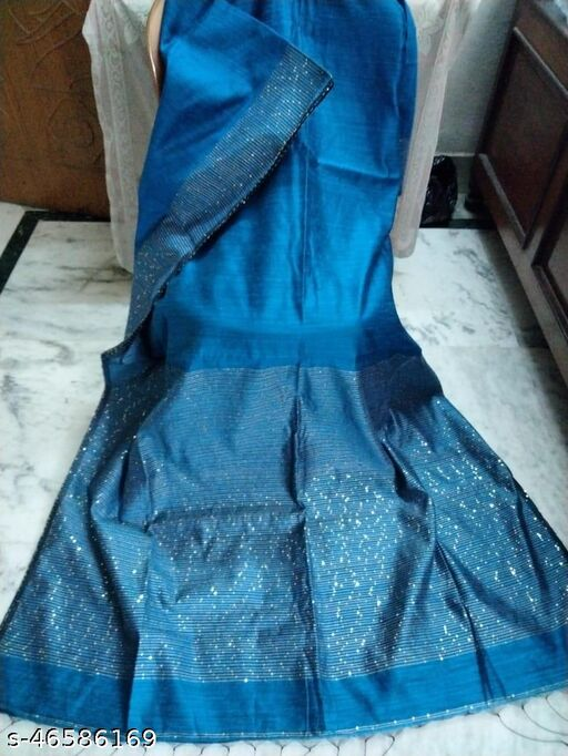 Woman's Super quality Motka with Sequence Pallu Saree
