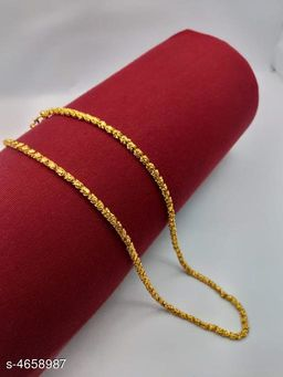 Women's Brass Gold Plated Necklaces & Chains