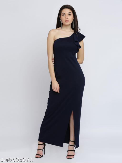 Urbane Feminine Women Gown