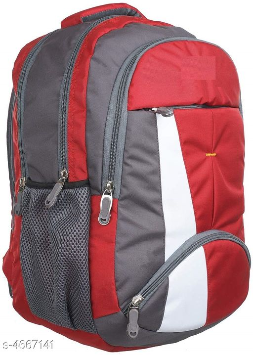 Trendy Polyester Backpack