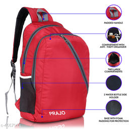 Classy Men's Multicolor Polyester Backpacks