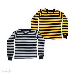Laraa Cotton Full Sleeve Winter Tshirt for Boys and Girls