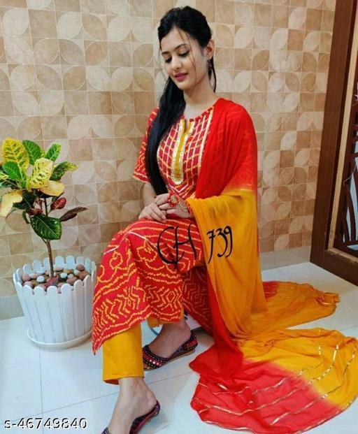 Adrika Graceful Women Dupatta Sets