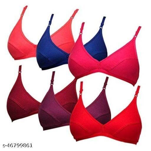 Womens And Girls Non-Padded bra 6