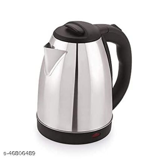 S&S Minisu Electric Kettle with Stainless Steel Body, 1.8 litres boiler for Water, instant noodles, soup etc