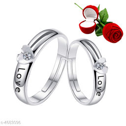 Women's Alloy Silver Plated Rings