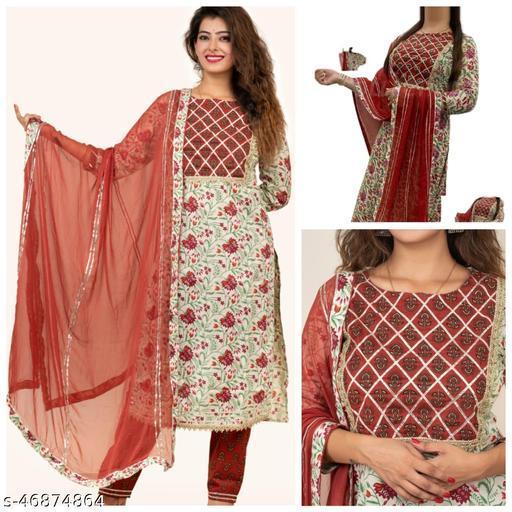 Adrika Pretty Women Dupatta Sets