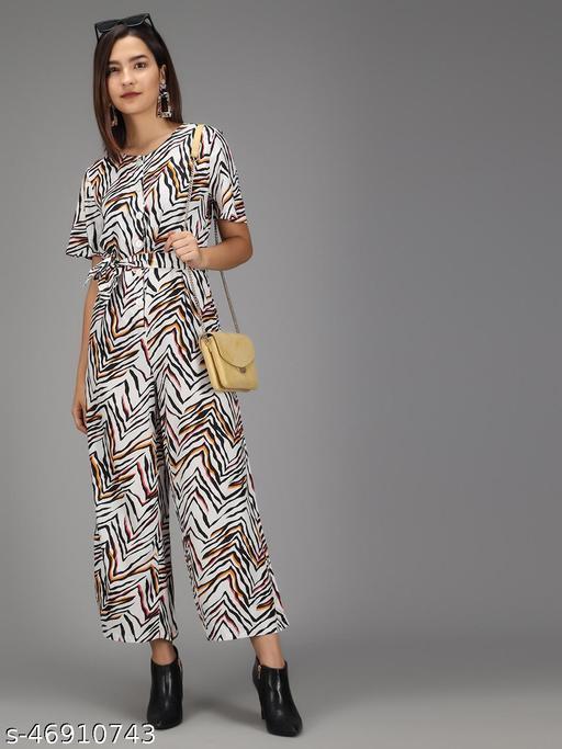 TRISLIN Animal Printed Jumpsuit