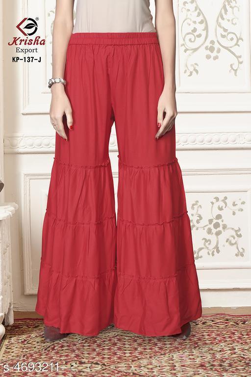 Trendy Women's Rayon Sharara