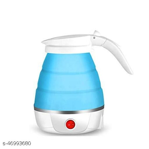 Silicone Lightweight Foldable Electric Travel Kettle  Multicolor