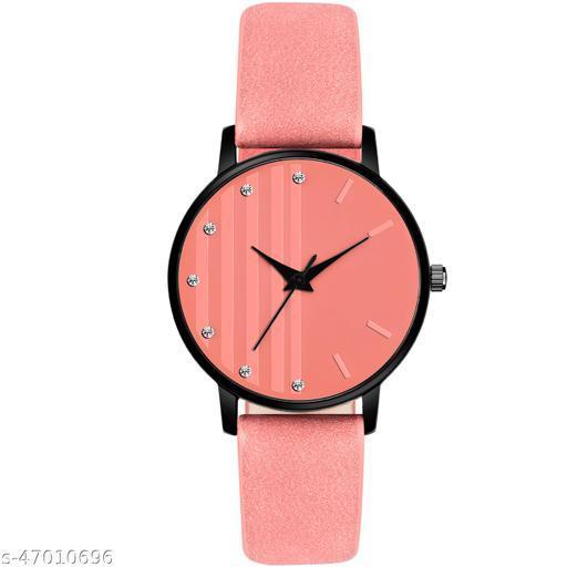MT323 Artist Designer Beautiful Watch for Women And Girls Leather Belt New