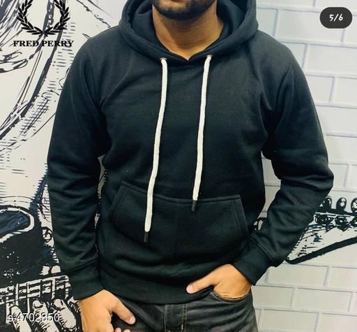 Trendy Cotton Men's Sweatshirt