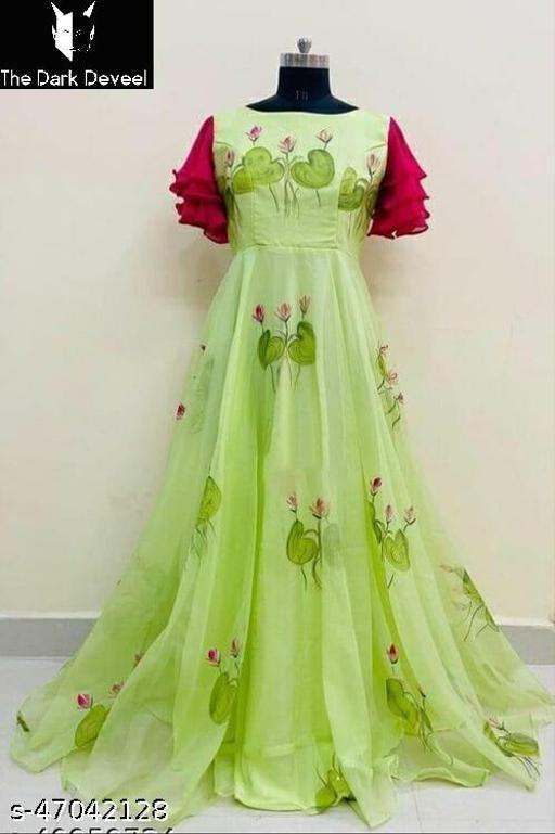 Stylish Fabulous Women Gown