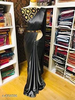 Stylish Satin Women's Saree