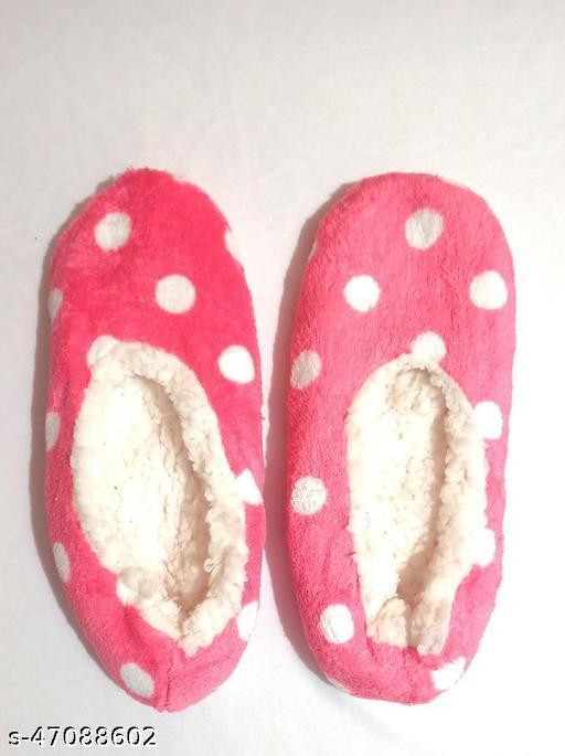 Women Cute Multicolor Winter Warm Home Socks (Free Size, 1 Pair)
