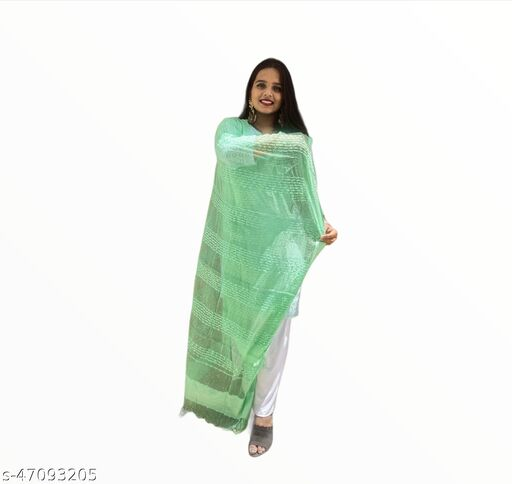 Bandhej House Tissue work dupatta for daily and casual wear
