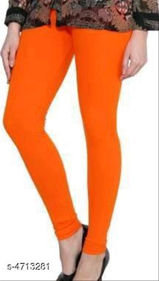 New Trendy Women's Cotton Lycra Legging
