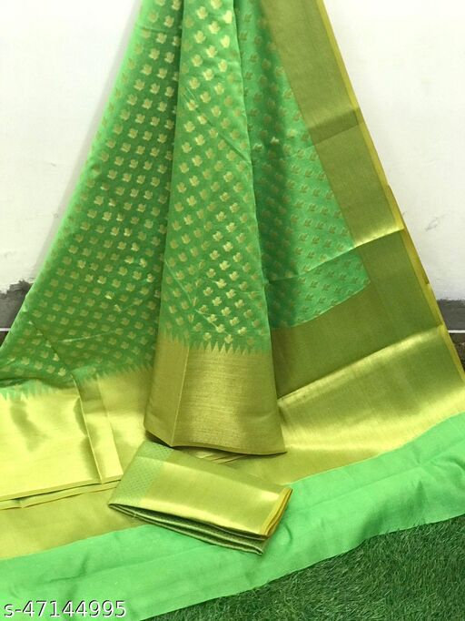 Rich Zari Banarasi Booti Saree