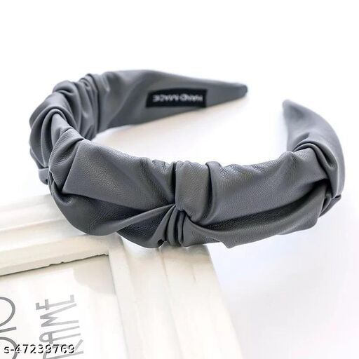 Beautiful Grey Plastic Pastel Kinda Day Hairband  for Women and Girls