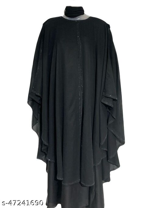 Dubai Style Simple Nug Farasha For Unmarried/School Girl