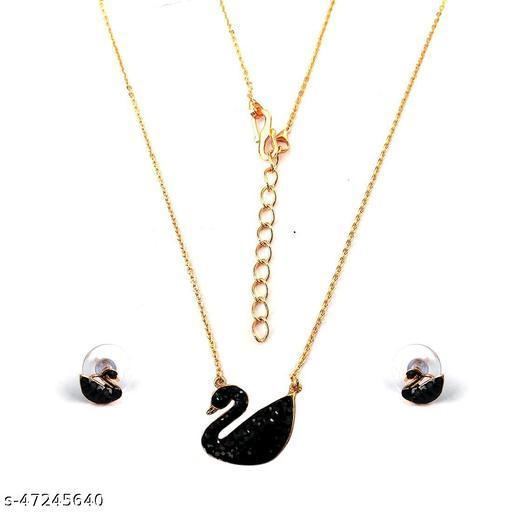 Duck Pendant Necklace For Women's & Girls