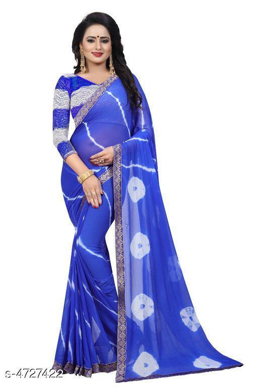 Rheyali Attractive Chiffon Women Sarees