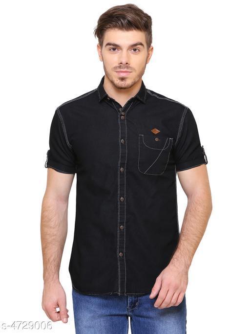 Designer Denim Men Shirt