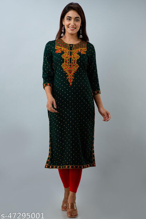 Stylish Retro Women kurti