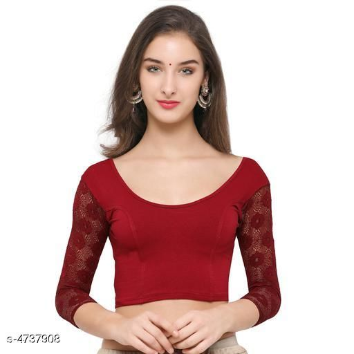 Superb Collection Of Stretchable Cotton Lycra Blouse