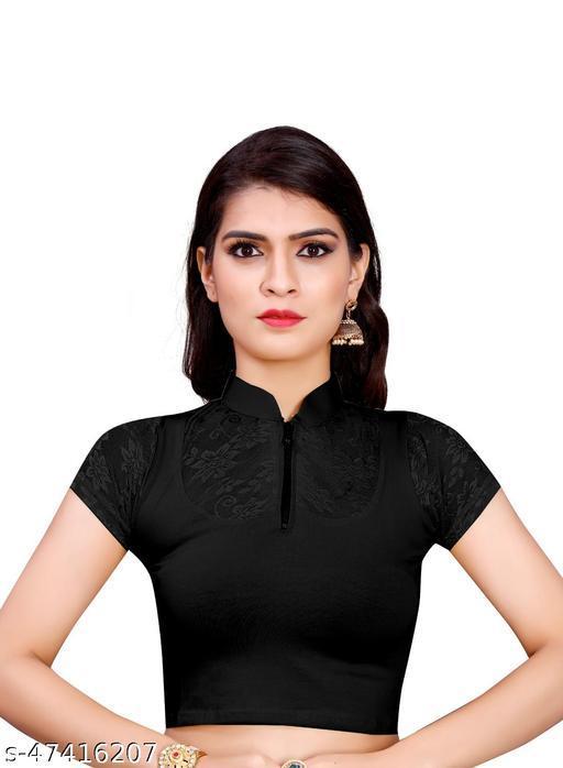 Prerna Enterprise Readymade Lycra Cotton Stretchable  Blouse