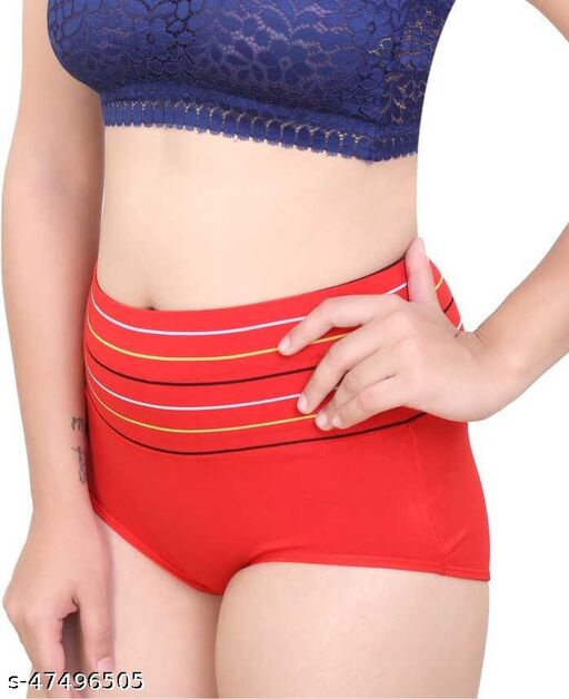 Women Hipster Multicolor Cotton Panty
