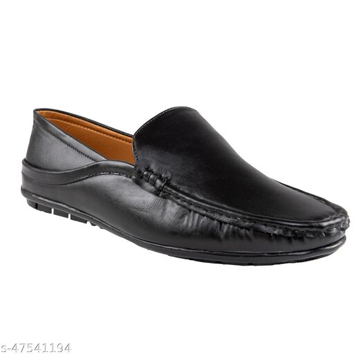 Men's Synthetic Smart Fit Casual Aldrino Loafers Loafers For Men  (Black)