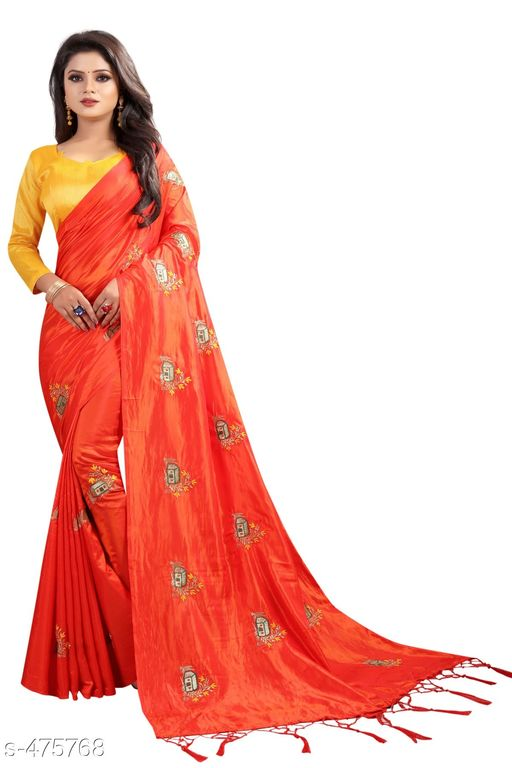 Sarees Alluring Silk Saree  *Fabric* Saree - Silk  , Blouse - Silk 