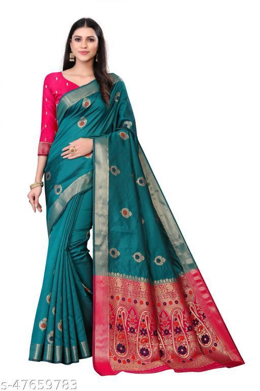 Women's Kanjivaram Silk Saree