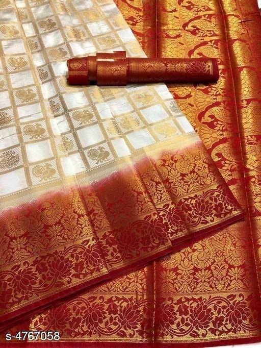 Trendy Stylish Nylon Silk Women's Saree