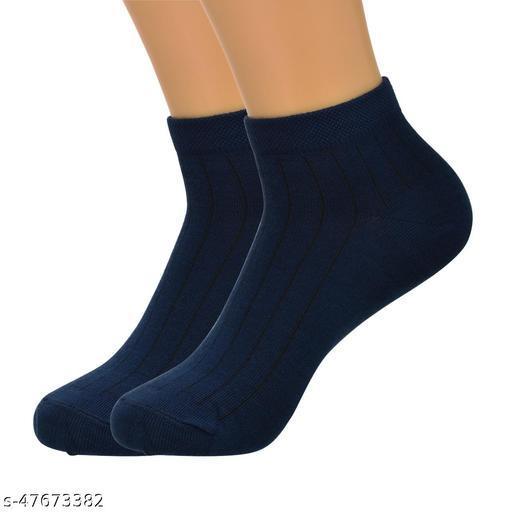 Yaunima Color Cotton Socks For Men (Pack Of 1)
