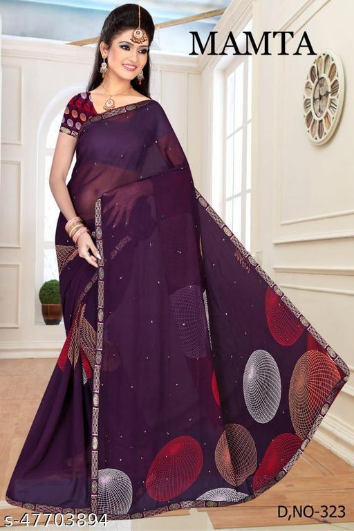 Designer festival printed saree