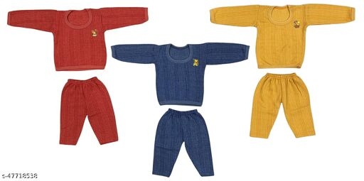 Bouncing Babies Thermal for kids - Pack of 3