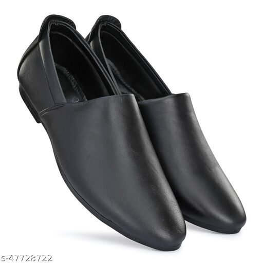 Paris Style New Latest Trendy Casual Genuine Leather Loafer Formal Shoes For Mens Color Black 5044