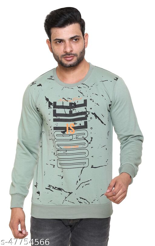 SHAUN Men Printed Sweatshirts