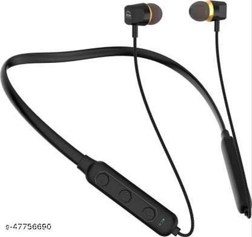 APT  Titanic Series Wireless Bluetooth In Ear Neckband Bluetooth Headset (Black)