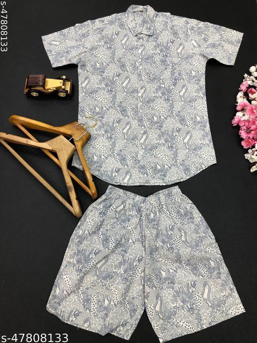 Classic Fashionable Top & Bottom Set
