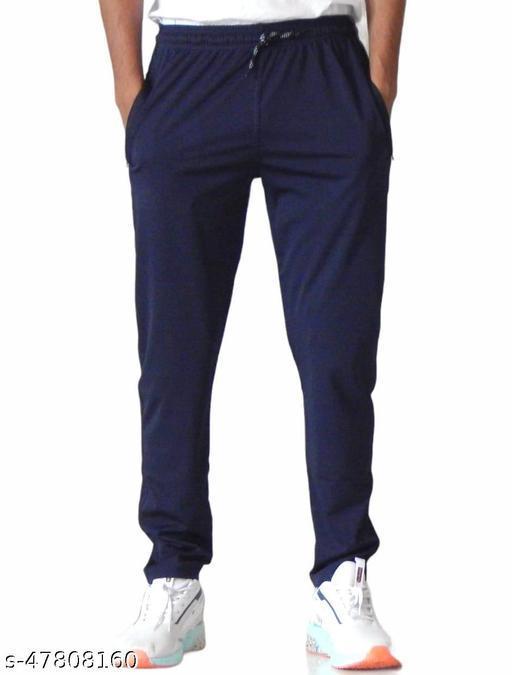 DEEKADA Men's Lycra Track Pants