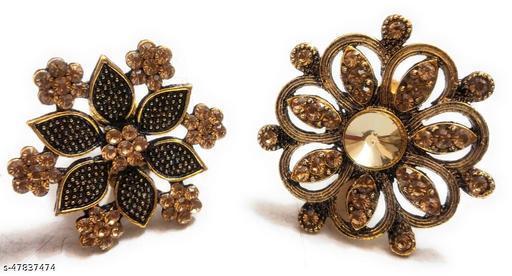 Shimmering Bejeweled Rings