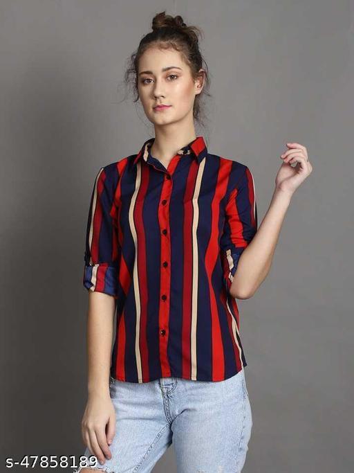 Classic Feminine Women Shirts